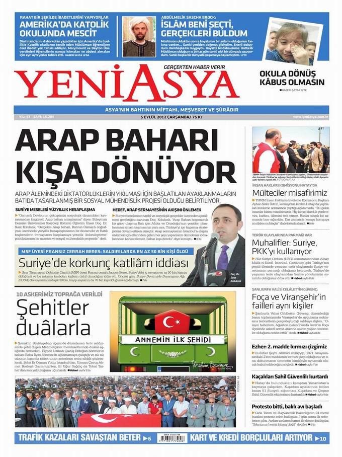 Gazete Manşetleri - 5 Eylül Çarşamba 3