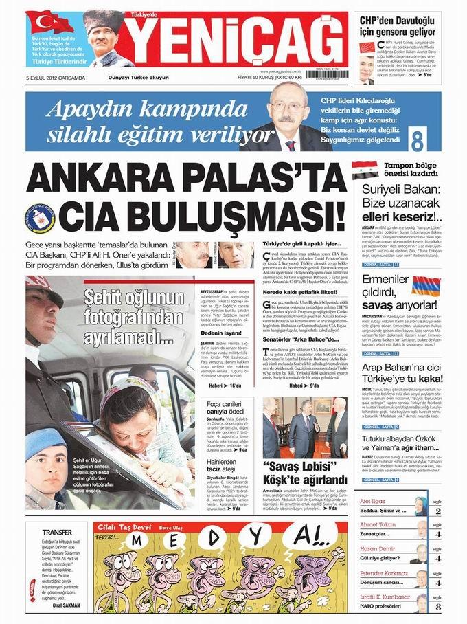 Gazete Manşetleri - 5 Eylül Çarşamba 6