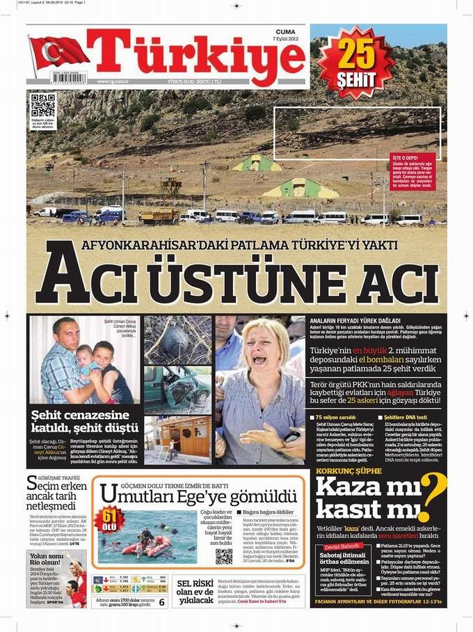 Gazete Manşetleri - 7 Eylül Cuma 6