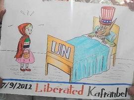 Suriyeli Kırmızı Başlıklı Kızı Bekleyen Felaket