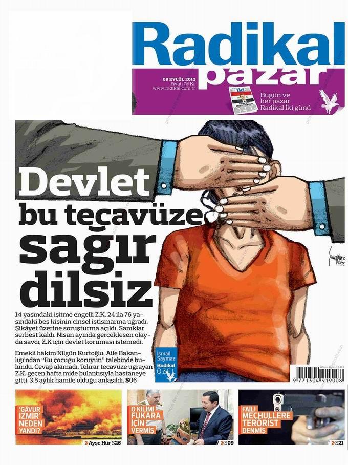 Gazete Manşetleri - 9 Eylül Pazar 11
