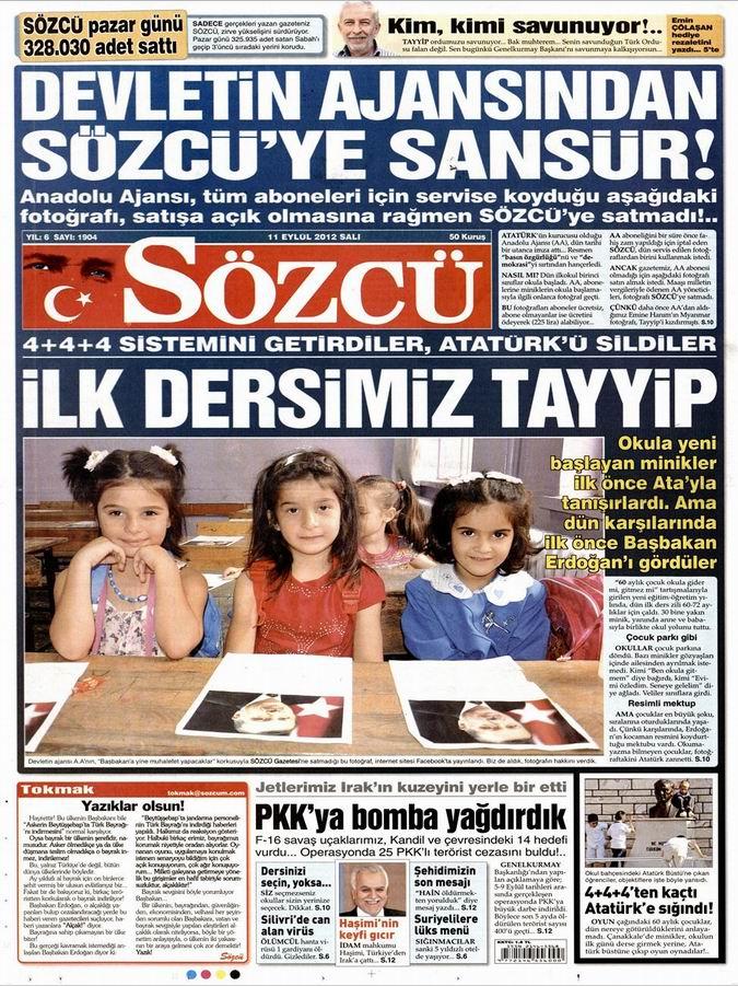 Gazete Manşetleri - 11 Eylül Salı 10