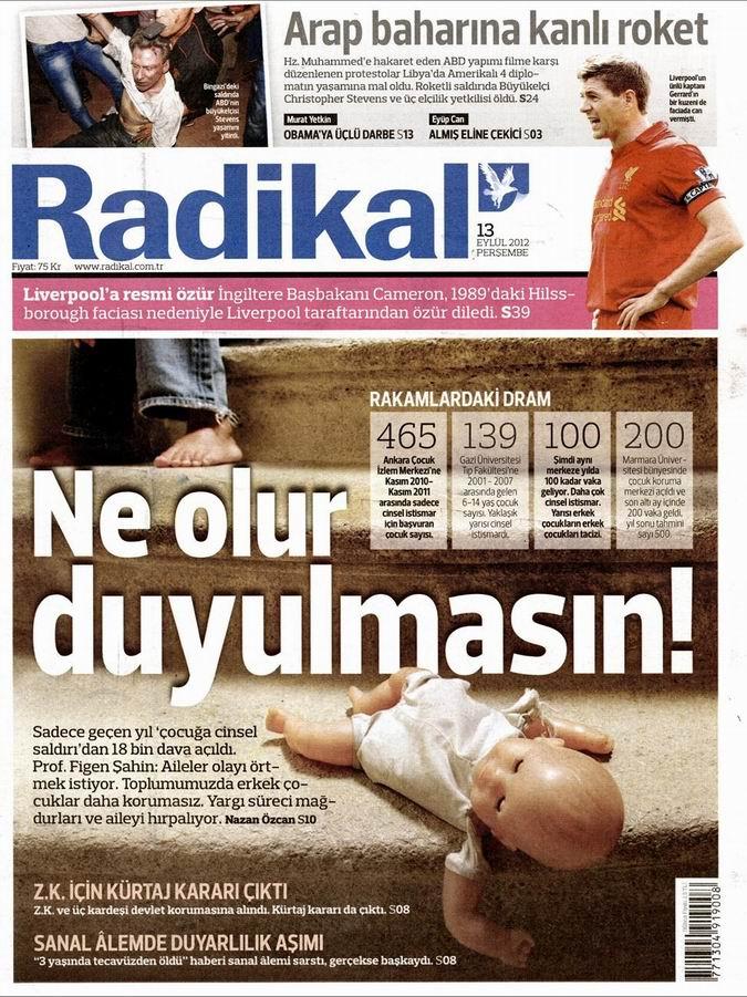 Gazete Manşetleri - 13 Eylül Perşembe 10