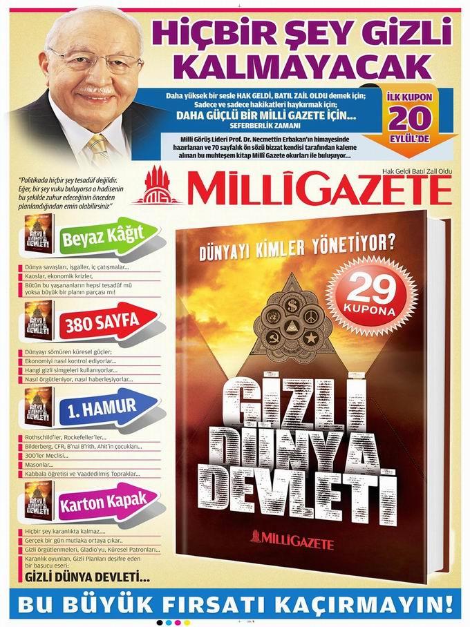 Gazete Manşetleri - 17 Eylül Pazartesi 16