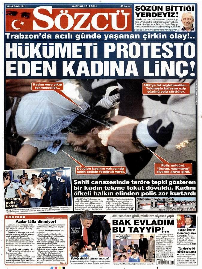 Gazete Manşetleri - 18 Eylül Salı 9