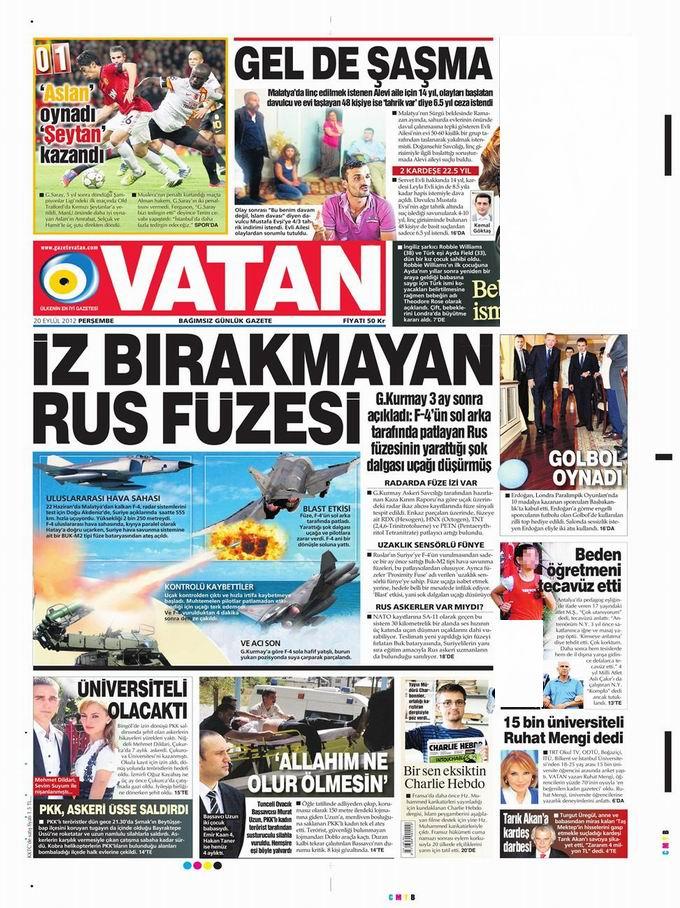 Gazete Manşetleri - 20 Eylül Perşembe 5
