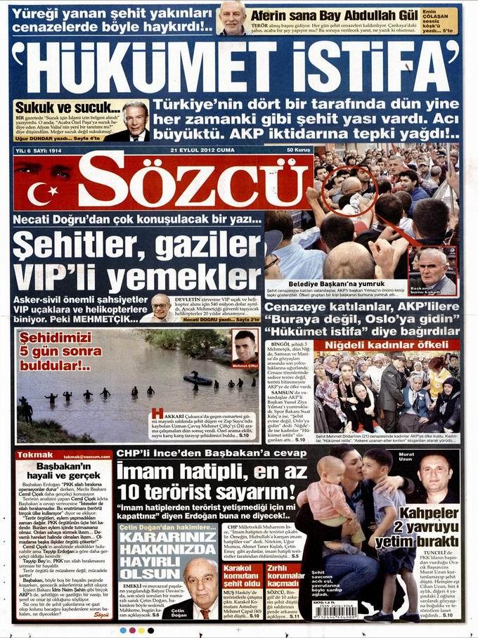 Gazete Manşetleri - 21 Eylül Cuma 10