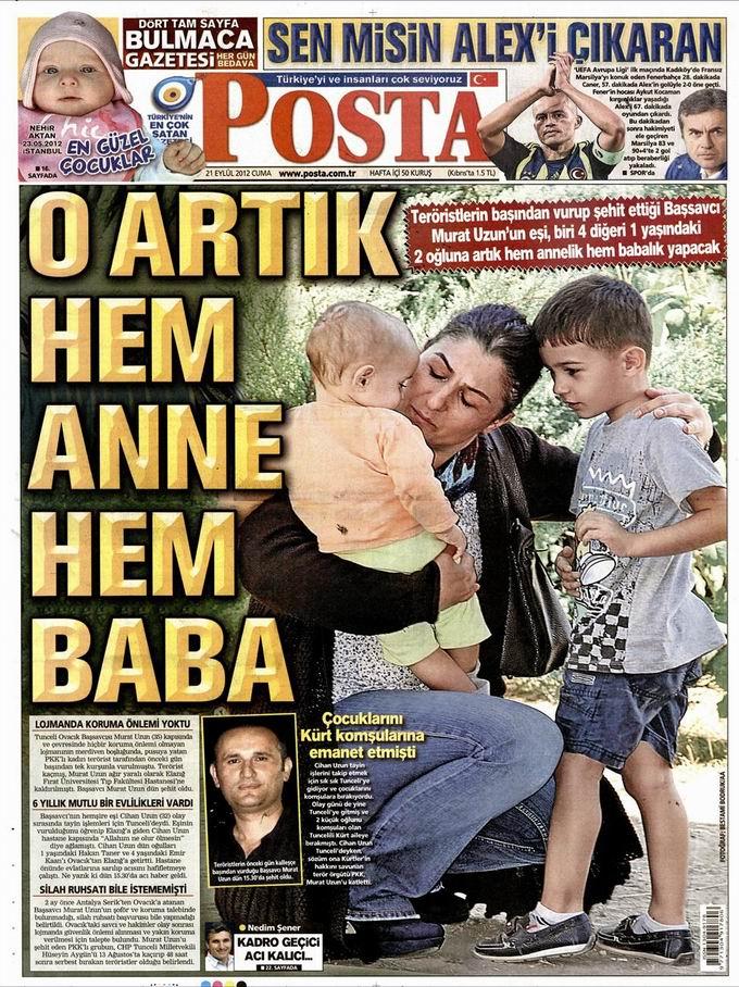 Gazete Manşetleri - 21 Eylül Cuma 13