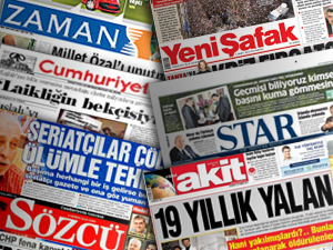 Gazete Manşetleri - 25 Eylül Salı