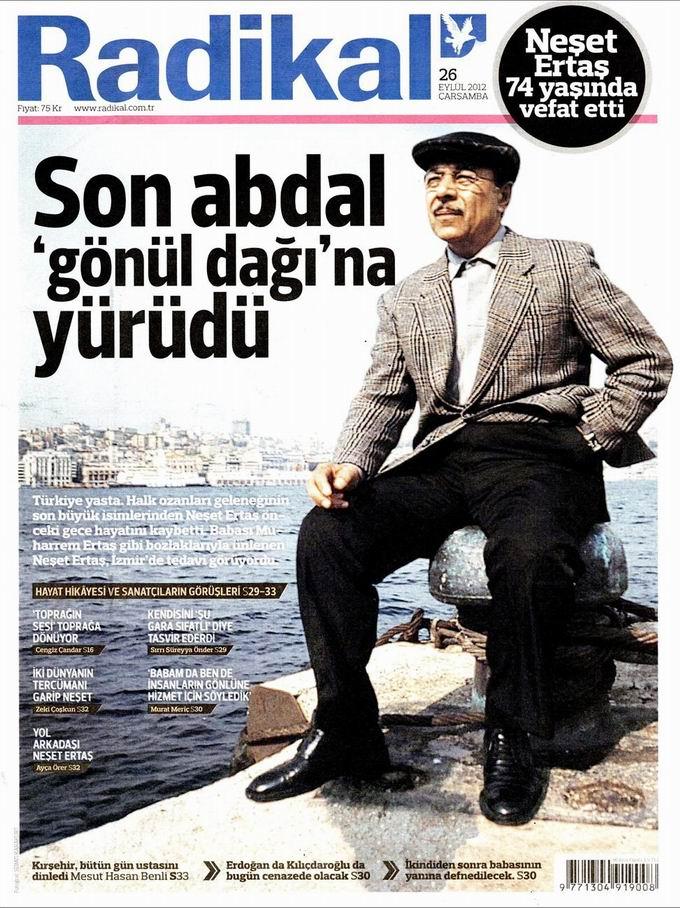 Gazete Manşetleri - 26 Eylül Çarşamba 12