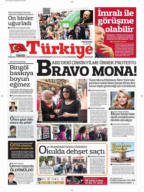 Gazete Manşetleri - 27 Eylül Perşembe 6