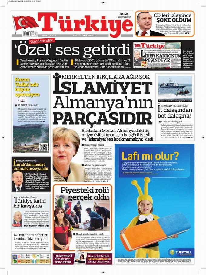 Gazete Manşetleri - 28 Eylül Cuma 6