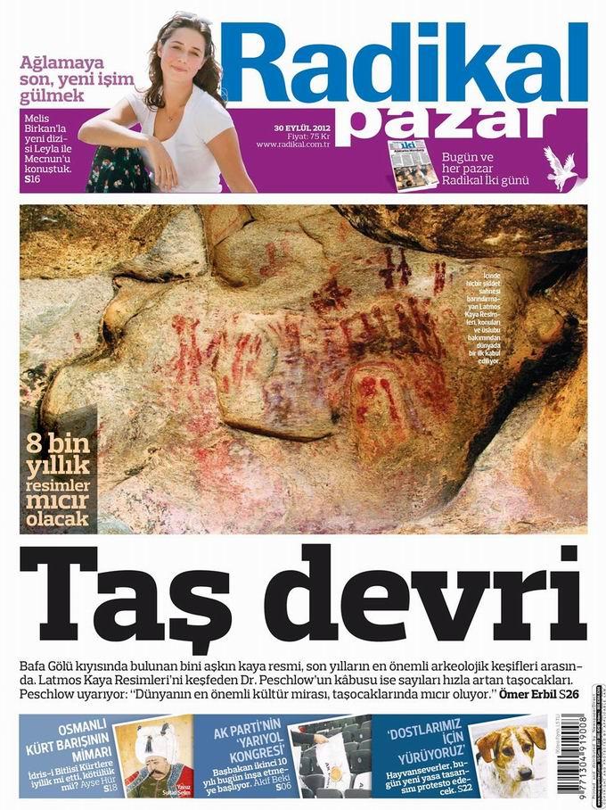 Gazete Manşetleri - 30 Eylül Pazar 12
