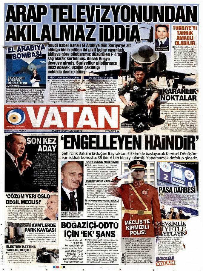 Gazete Manşetleri - 30 Eylül Pazar 5