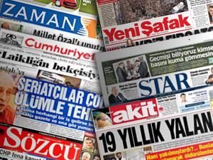 Gazete Manşetleri - 1 Ekim Pazartesi