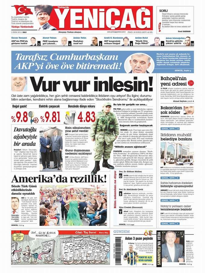 Gazete Manşetleri - 2 Ekim Salı 7