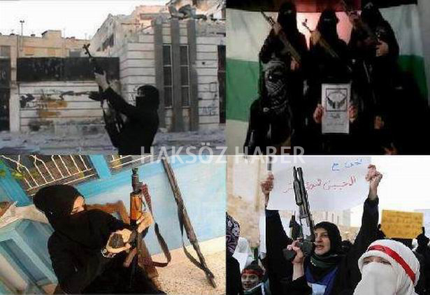 Suriye Devriminin Kadınları 1