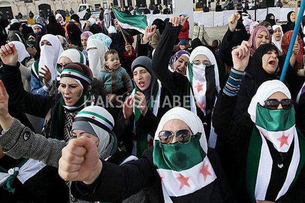 Suriye Devriminin Kadınları 7