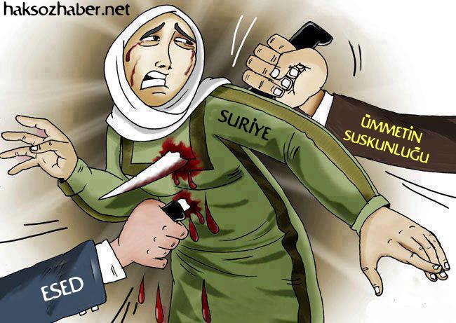 Suriye Sırtından da Bıçak Yer 1