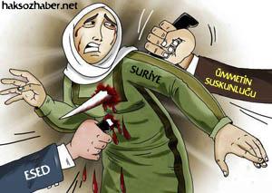 Suriye Sırtından da Bıçak Yer