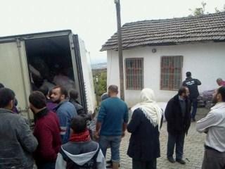 Özgür-Derden Suriyeye Battaniye Yardımı 16