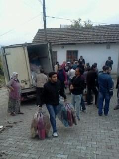 Özgür-Derden Suriyeye Battaniye Yardımı 17
