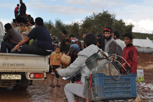 Özgür-Derden Suriyeye Battaniye Yardımı 3