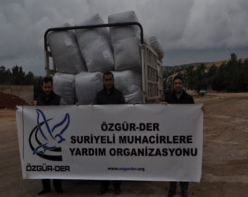Özgür-Derden Suriyeye Battaniye Yardımı 5