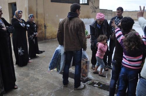 Özgür-Derden Suriyeye Battaniye Yardımı 9