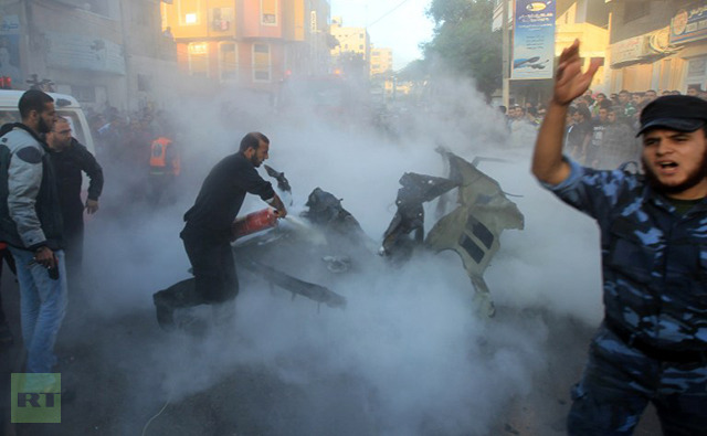 İsrail Gazzeyi Vurdu; Kassam Komutanı da Şehitler Arasında! 10