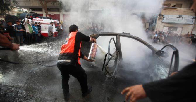 İsrail Gazzeyi Vurdu; Kassam Komutanı da Şehitler Arasında! 9