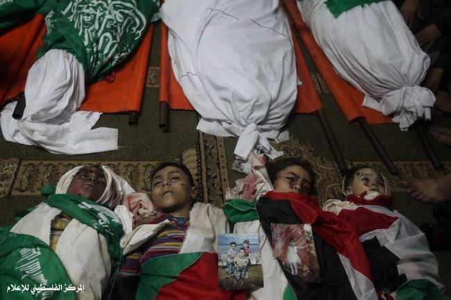 Gazzede Katledilen Bebek ve Çocuklar 1