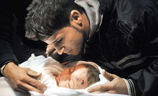 Gazzede Katledilen Bebek ve Çocuklar 10