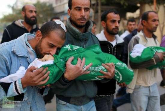 Gazzede Katledilen Bebek ve Çocuklar 12