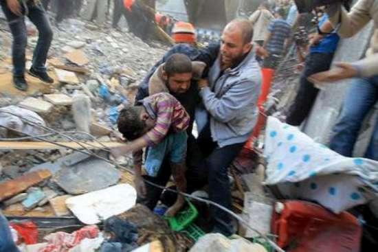 Gazzede Katledilen Bebek ve Çocuklar 13