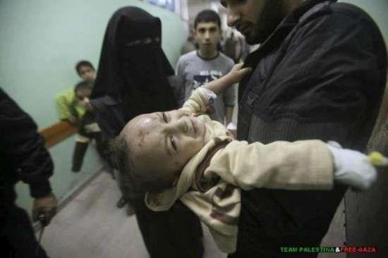 Gazzede Katledilen Bebek ve Çocuklar 14