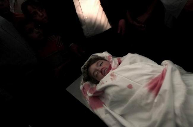 Gazzede Katledilen Bebek ve Çocuklar 19