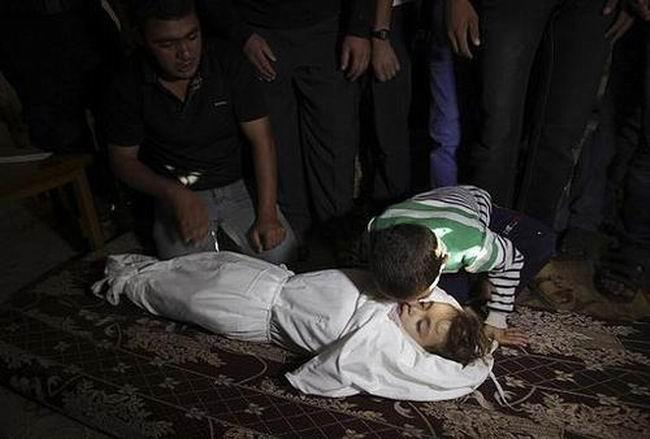 Gazzede Katledilen Bebek ve Çocuklar 20
