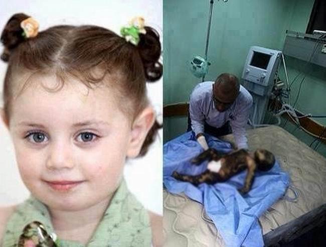 Gazzede Katledilen Bebek ve Çocuklar 21