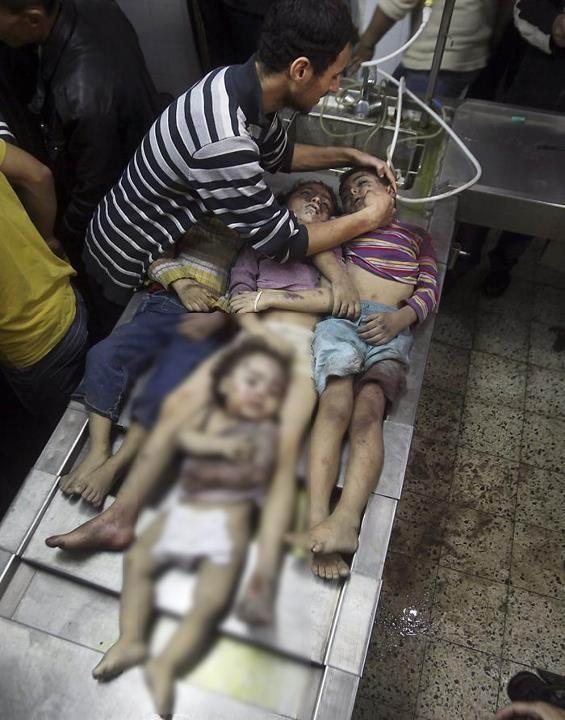 Gazzede Katledilen Bebek ve Çocuklar 22