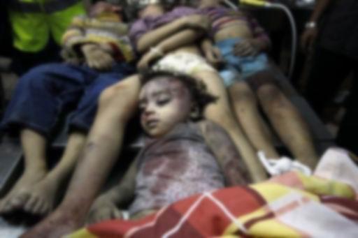 Gazzede Katledilen Bebek ve Çocuklar 3