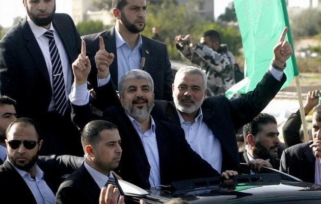 Halid Meşal, Gazzede 13