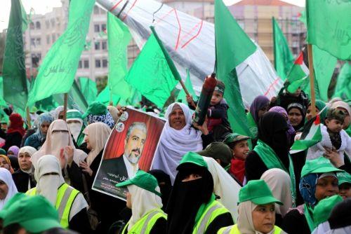 Gazzede HAMASın 25. Yıl Kutlaması 1