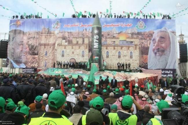 Gazzede HAMASın 25. Yıl Kutlaması 16