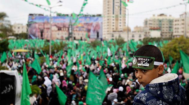 Gazzede HAMASın 25. Yıl Kutlaması 25