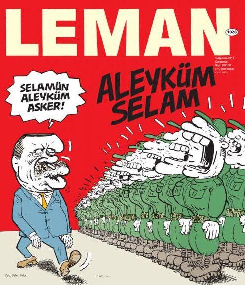 Ordu ve Erdoğan / Leman 1