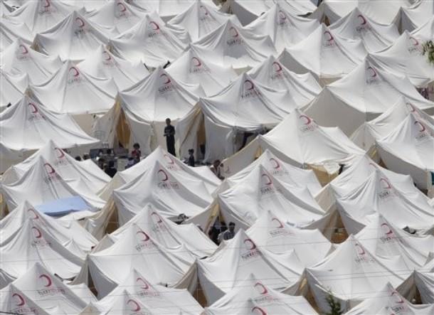Hatay'daki Suriyeli Mültecilerden Kareler 1