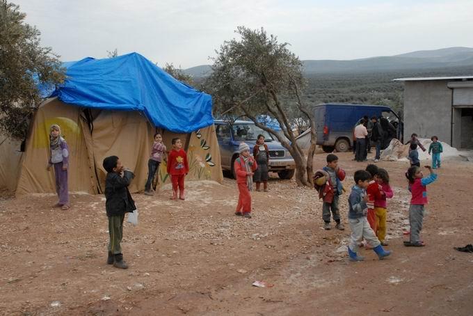 Bartın ve Ereğli'den Yola Çıkan Yardımlar Suriyede  13