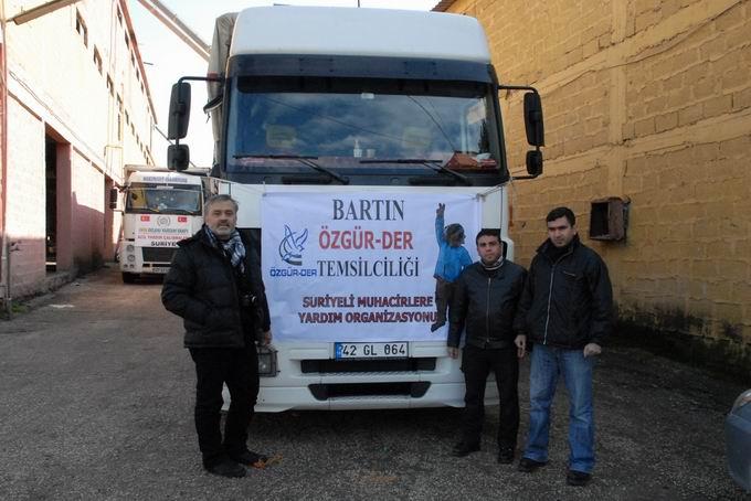 Bartın ve Ereğli'den Yola Çıkan Yardımlar Suriyede  6