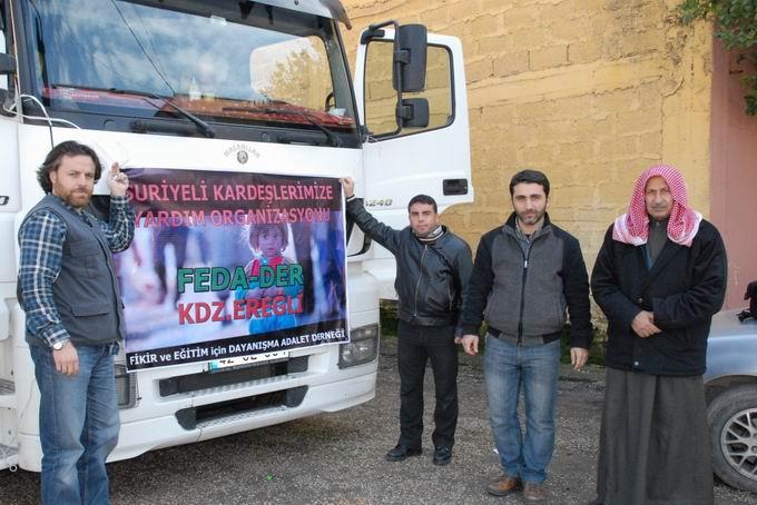 Bartın ve Ereğli'den Yola Çıkan Yardımlar Suriyede  7